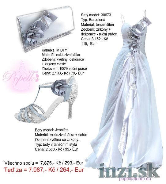 ac04694225 Luxusné spoločenské šaty + kabelka + topánky - Inzi.sk (Inzeráty ...