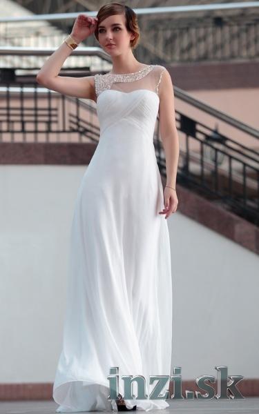 826aa1565a9f Svadobné šaty - jednoduché biele - Inzi.sk (Inzeráty Internet ...
