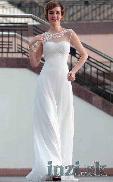 Svadobné šaty - jednoduché biele - Inzi.sk (Inzeráty Internet ... 4bd457b31e6