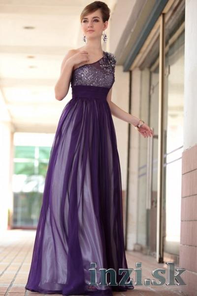 a8d2d056c73e Plesové spoločenské šaty aj na mieru - fialová - Inzi.sk (Inzeráty ...