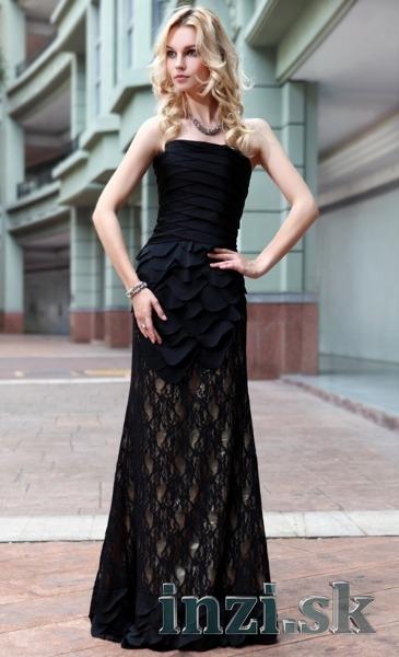1be61e22f4b6 Plesové spoločenské šaty aj na mieru - čiernozlaté - Inzi.sk ...